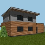 Pár foto z výstavby montovaného domu...