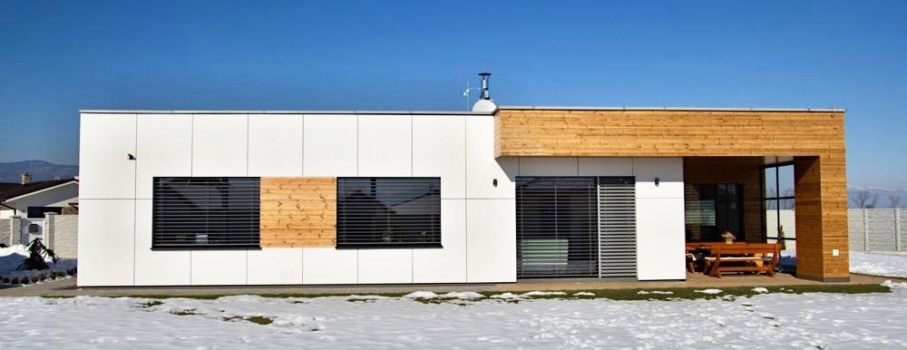 fasády rodinných domov - RD Kováčová